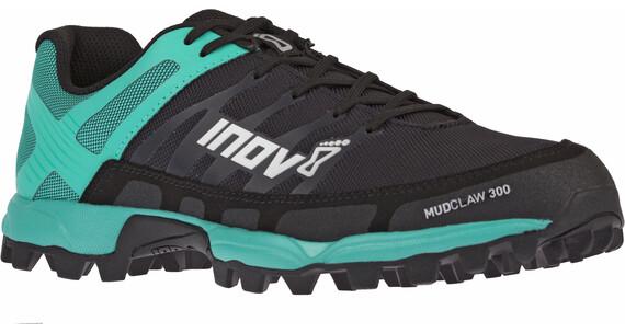 inov-8 Mudclaw 300 Naiset Juoksukengät , musta/turkoosi
